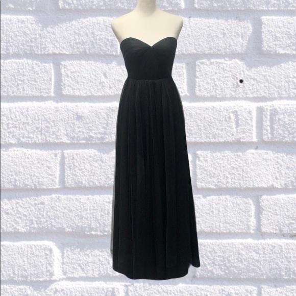 Jenny Yoo Dresses & Skirts - Jenny Yoo Collection Anabelle Black Dress Size 0